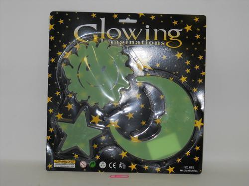 Glow in the Dark Decorations Lrg