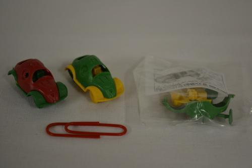 Plastic Model Beetle Car