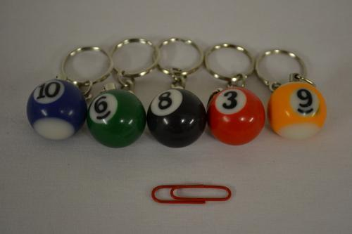 Pool Ball Keyring