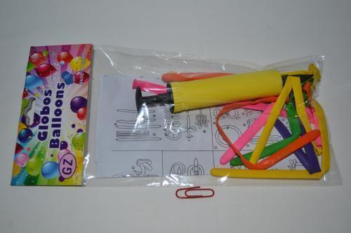 Balloon Set 22cm with Pump