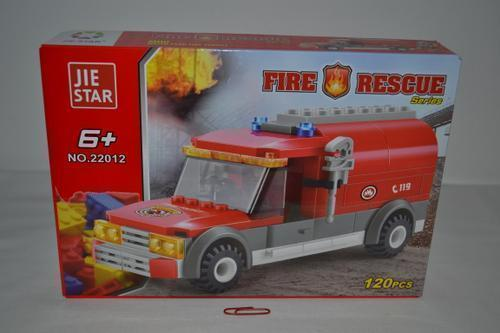 Jiestar Fire Rescue 120 piece