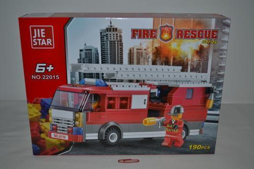 Jiestar Fire Set 190 piece