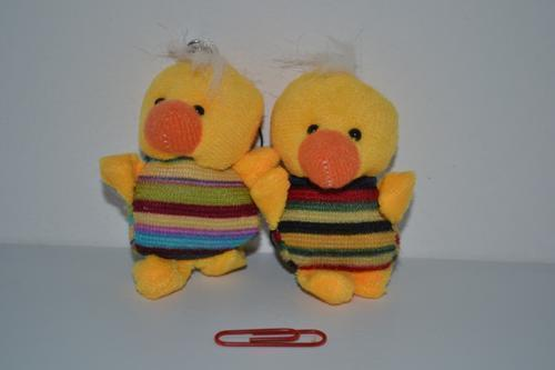 Mini Duck Keyring 7cm 2 colours