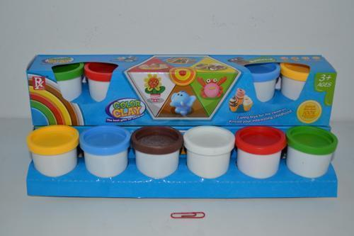 Modeling Dough Tub Set 6's