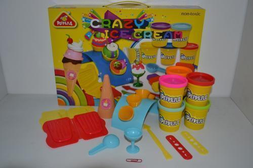 Modeling Dough Ice Cream Set