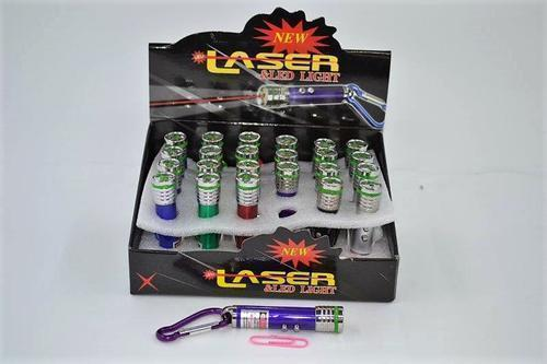 LED Laser 3 in 1 Torch