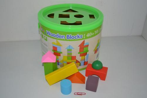 Wooden Blocks 50pc