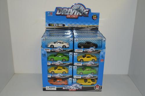 Die Cast Car 4 Design Boxed