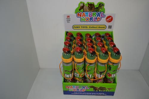 Insects in Fancy Tube 12pc