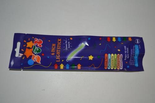"Glow Light Stick 6"" 6 colour"