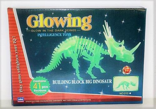Glowing Triceratops Boxed
