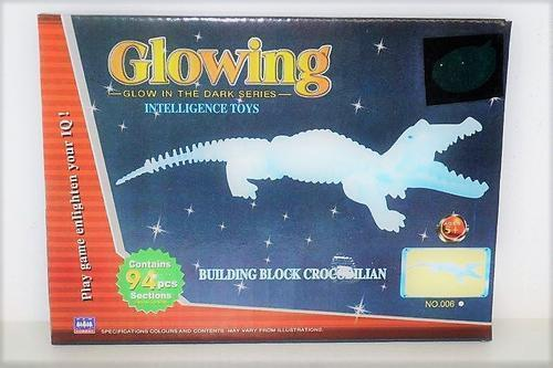 Glowing Crocodile Boxed