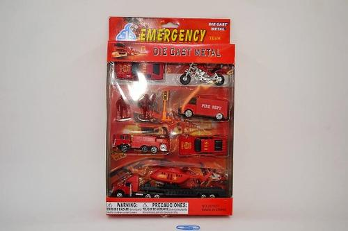 Die Cast Emergency Set 3dsn