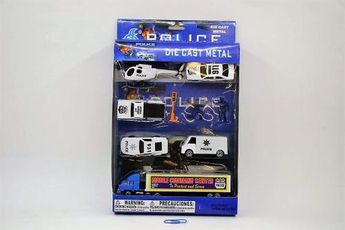 Die Cast Police Set 3dsn