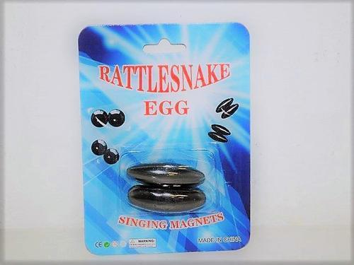 Rattle Snake Egg Magnet Oval