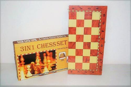 Chess Set 3 in 1