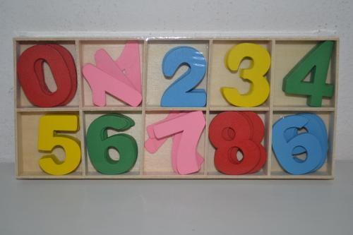 Wooden Number Set