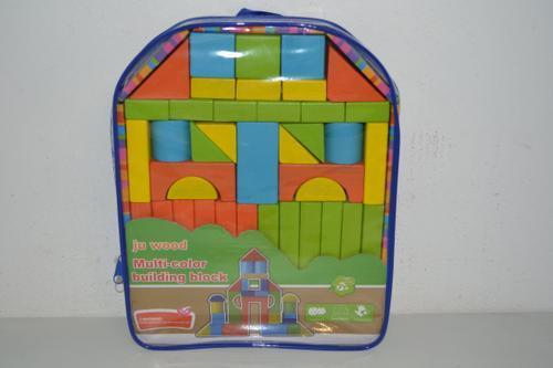 Wooden Building Block Backpack