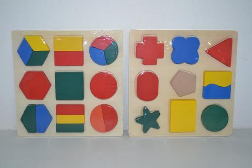Wooden Shape Set