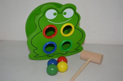 Wooden Animal Ball Game