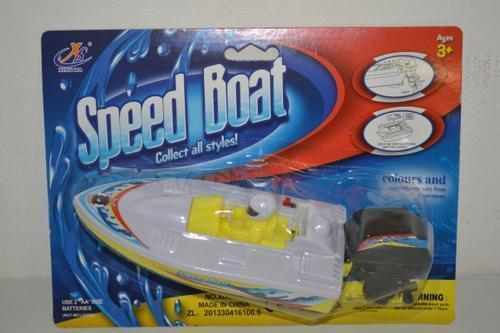 Speed Boat in Blister Pack