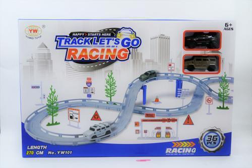 Track Lets Go Racing Set