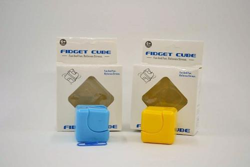 Spinner Cube Plastic Coloured