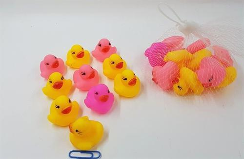 Duck bath Set Small 10pc 3cm