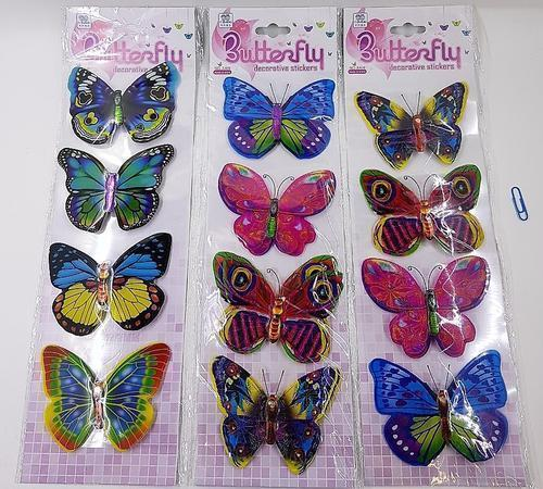 Butterfly Set of 4 Asst