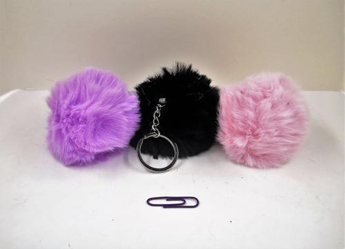 Ball 1 Colour Key Ring 8cm