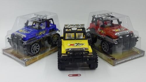 Friction Jeep Plastic