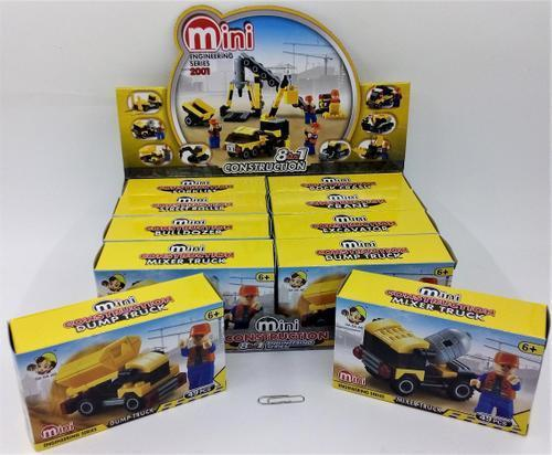 Construction Truck Block Set