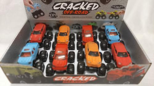 Die Cast Friction Monster Truck-297