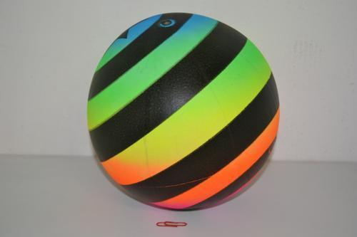 Beach Lumo Striped Ball 22cm