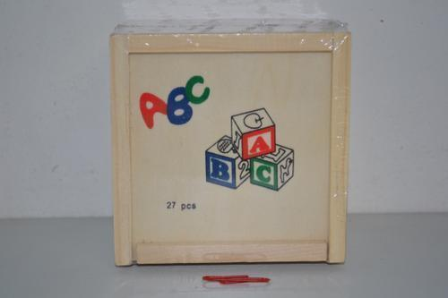 Wooden ABC Blocks (27pc)