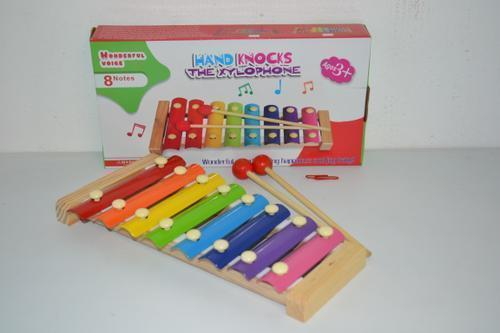 Wooden Xylaphone 8 Sounds