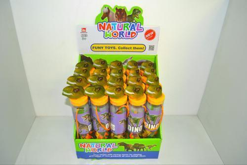 Dinosaurs in Fancy Tube 12pc