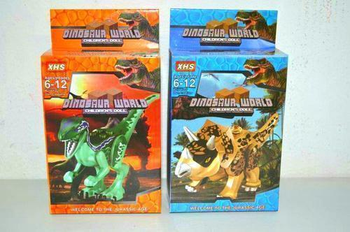 Dinosaur World Block Set 6dsn