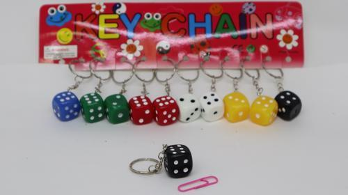 Key Ring Dice 2cm