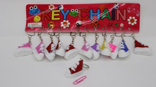 Key Ring Takkies Glitter 3.5cm