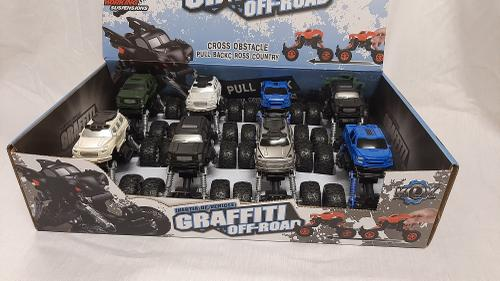 Die Cast Back Off Road Truck-439