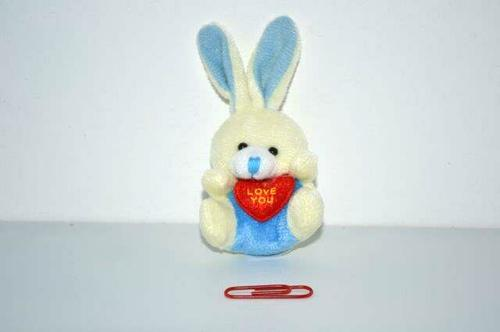 Mini Rabbit  7cm Keyring