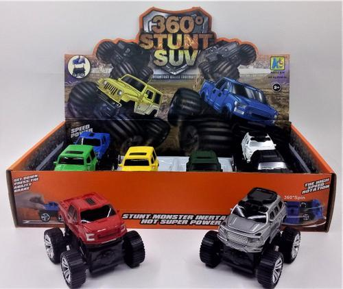 Stunt Friction SUV 360