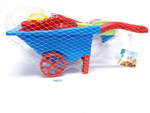 Beach Wheel Barrow Set 7pc
